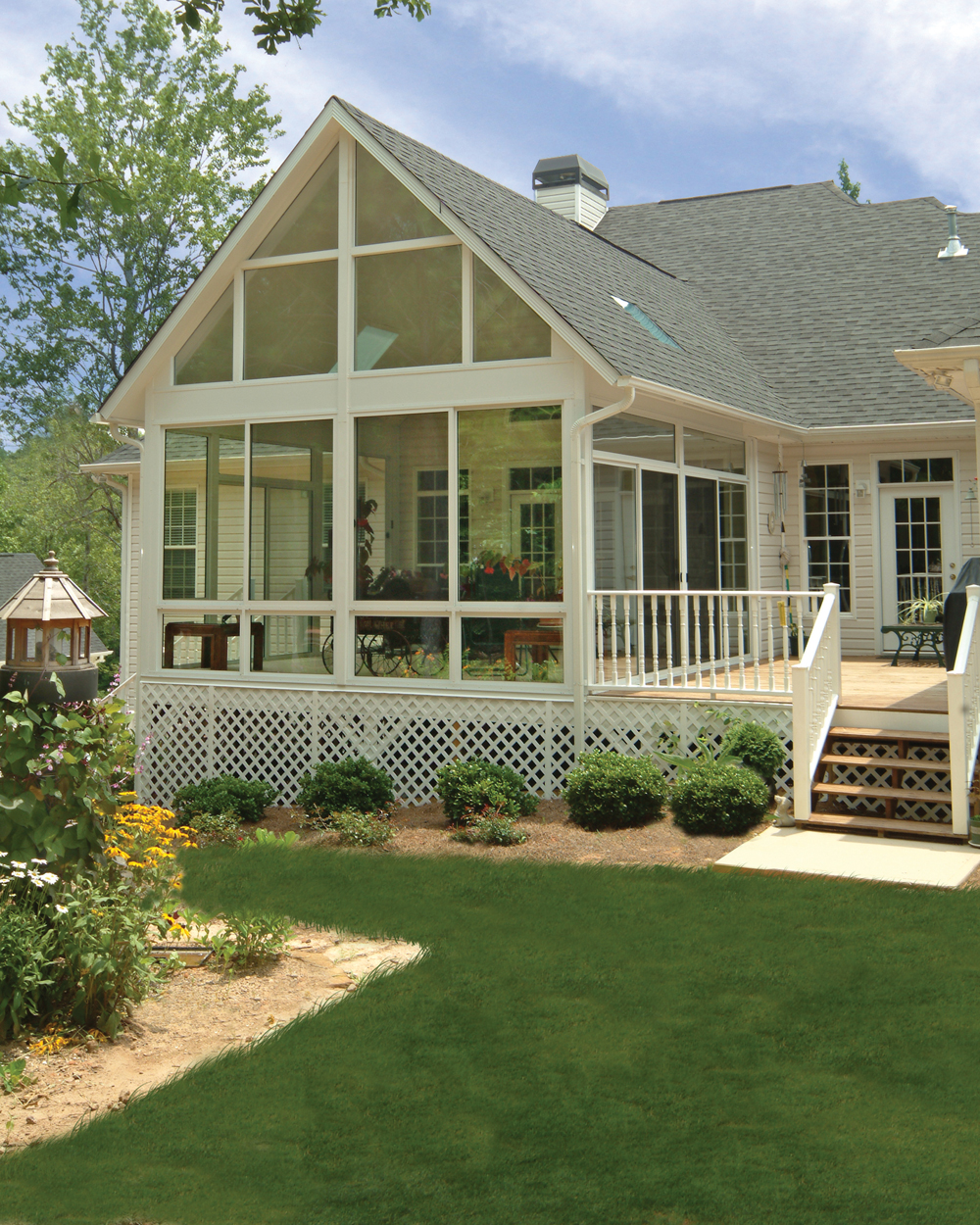 Patio enclosures inc provides five lessons for building for Sunroom and patio designs