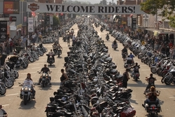 harley-davidson 2008 sturgis rally events are exciting and free