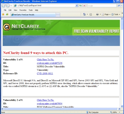 sample malware scan report filetype pdf