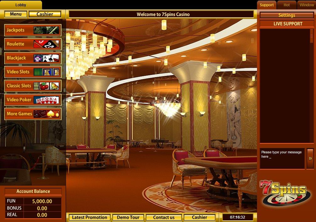 7spins casino online