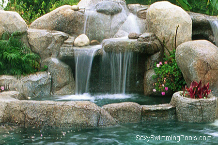 Spa Waterfall