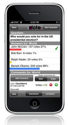 iVote Mobile for iPhone
