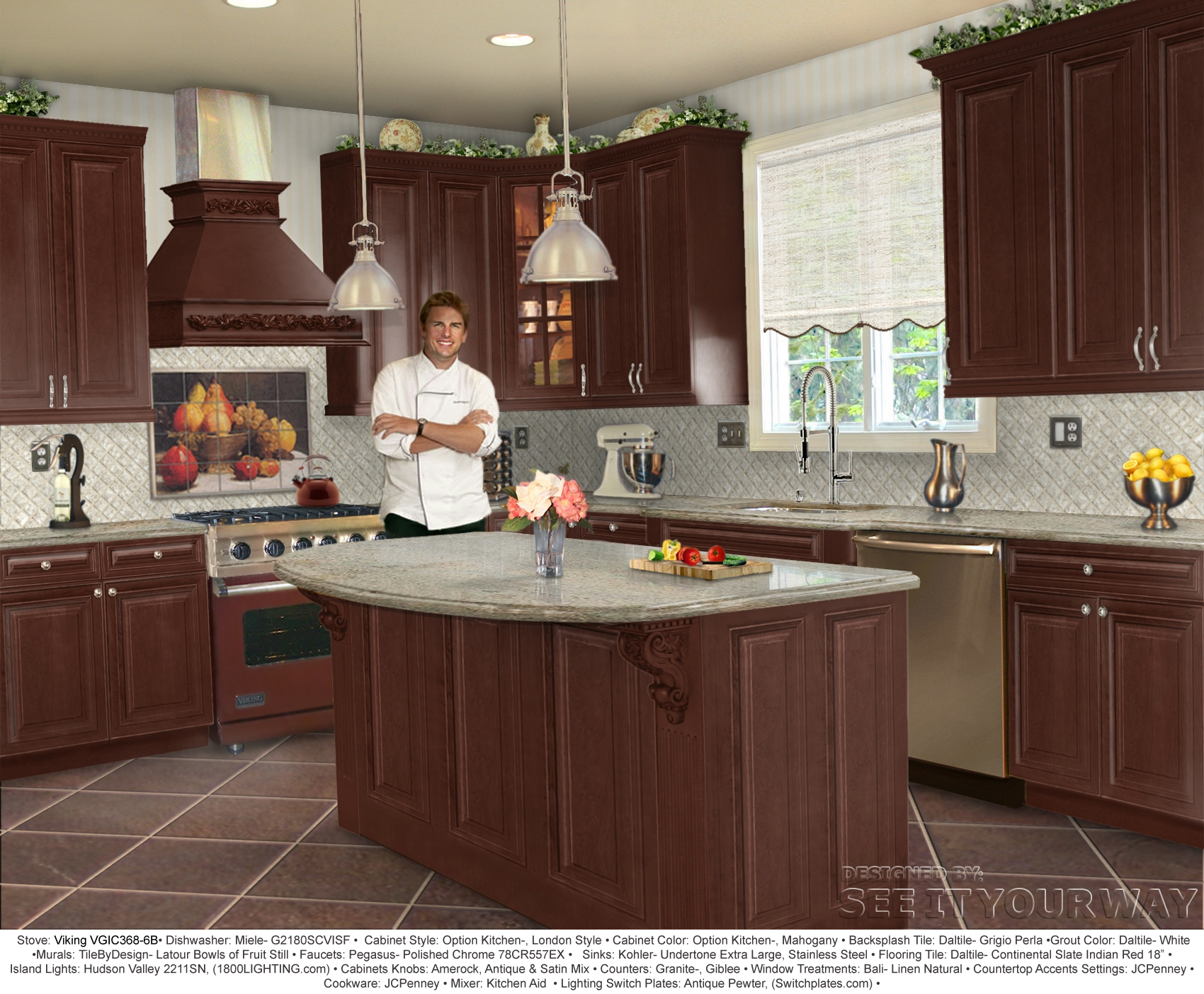 In the behr paint color gallery sample kitchen designs for Kitchen samples