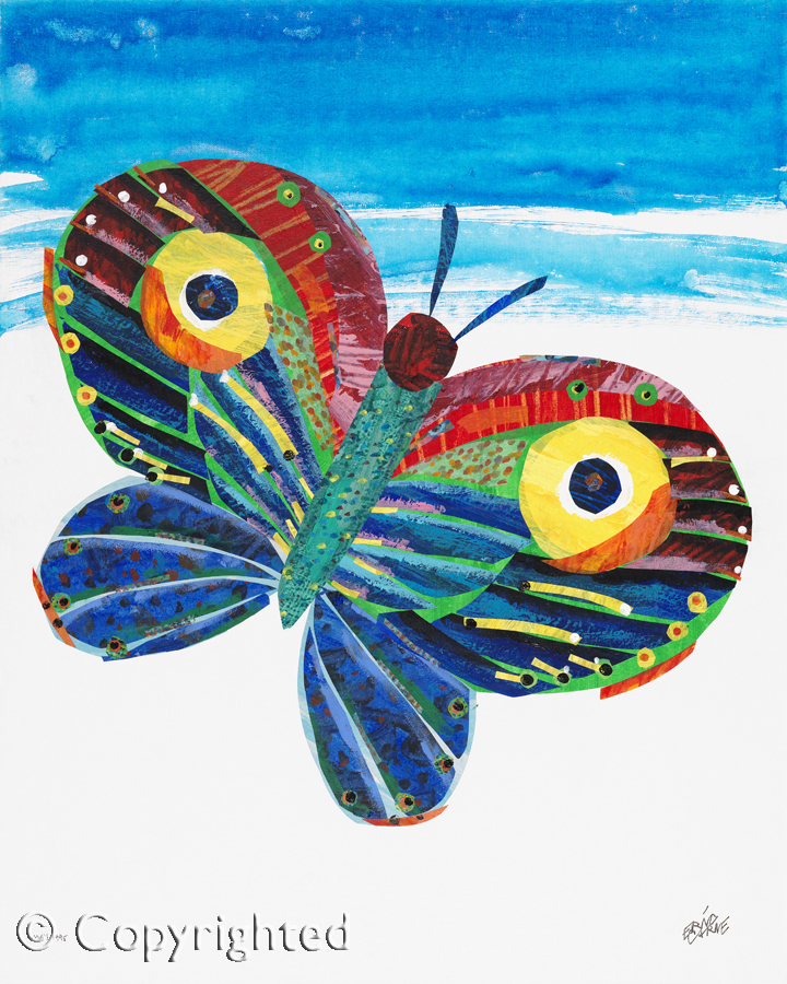 Inaugural Carle Honors Butterfly Auction Launched Online