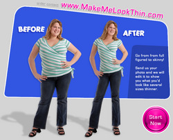 Make Me Look Thin Launches A Digital Makeover Service Go From Overweight To Virtually Skinny In 48 Hours