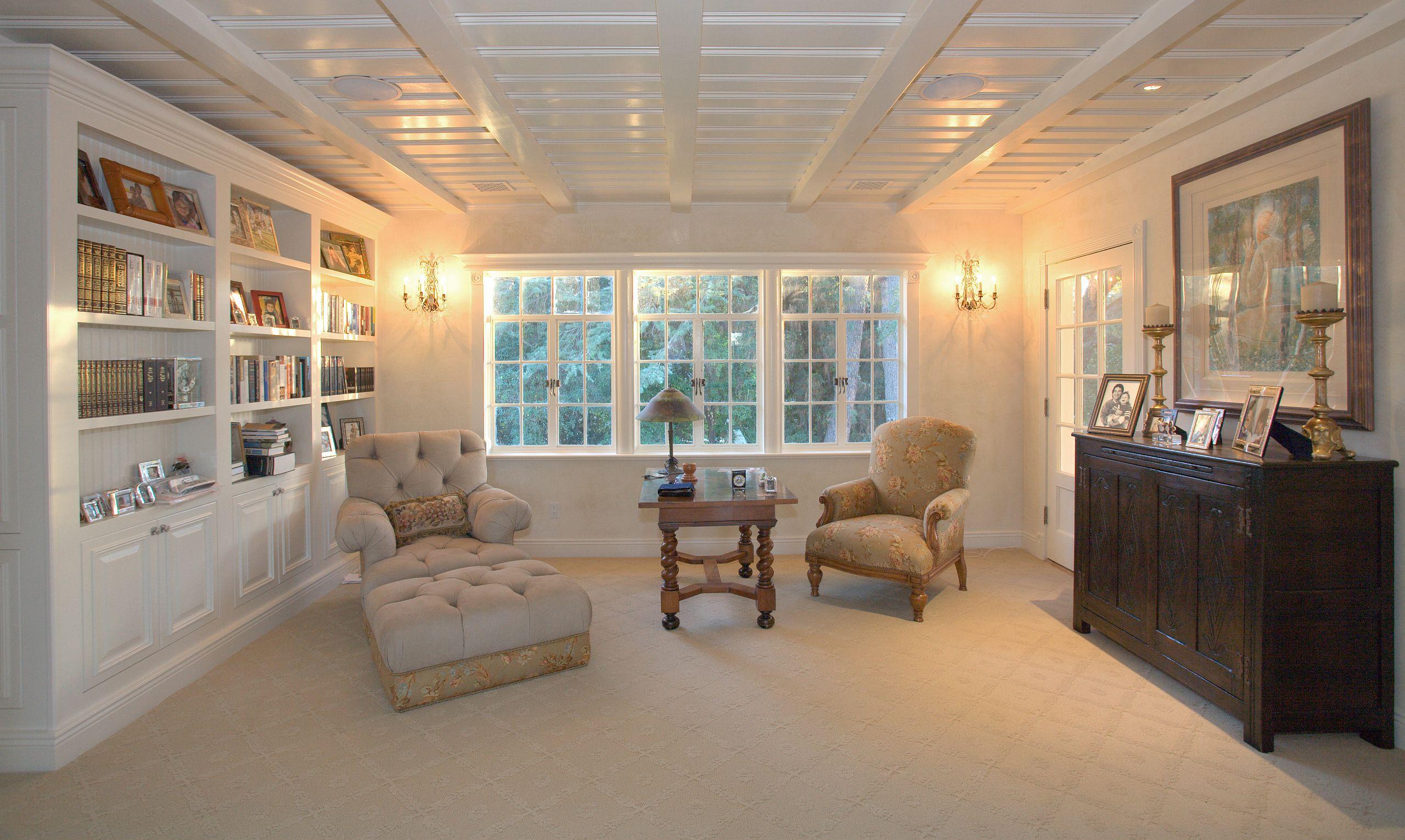 inhabit space inc renovates historic al jolson estate in los angeles. Black Bedroom Furniture Sets. Home Design Ideas