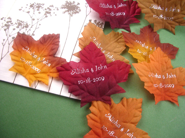 Fall in love wedding favors wedding decor ideas fall in love with favors and flowers new line of fall wedding favors junglespirit Image collections