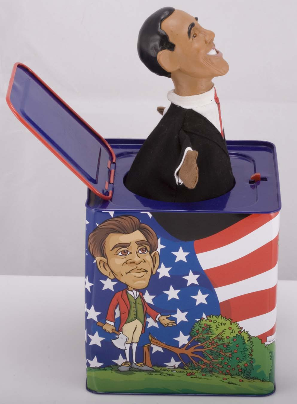 small company gambles on obama announces barack obama jack in the box toy. Black Bedroom Furniture Sets. Home Design Ideas