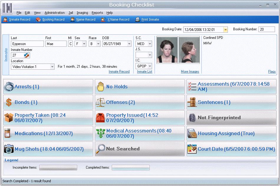 Spillman Releases New Jail Imaging Software