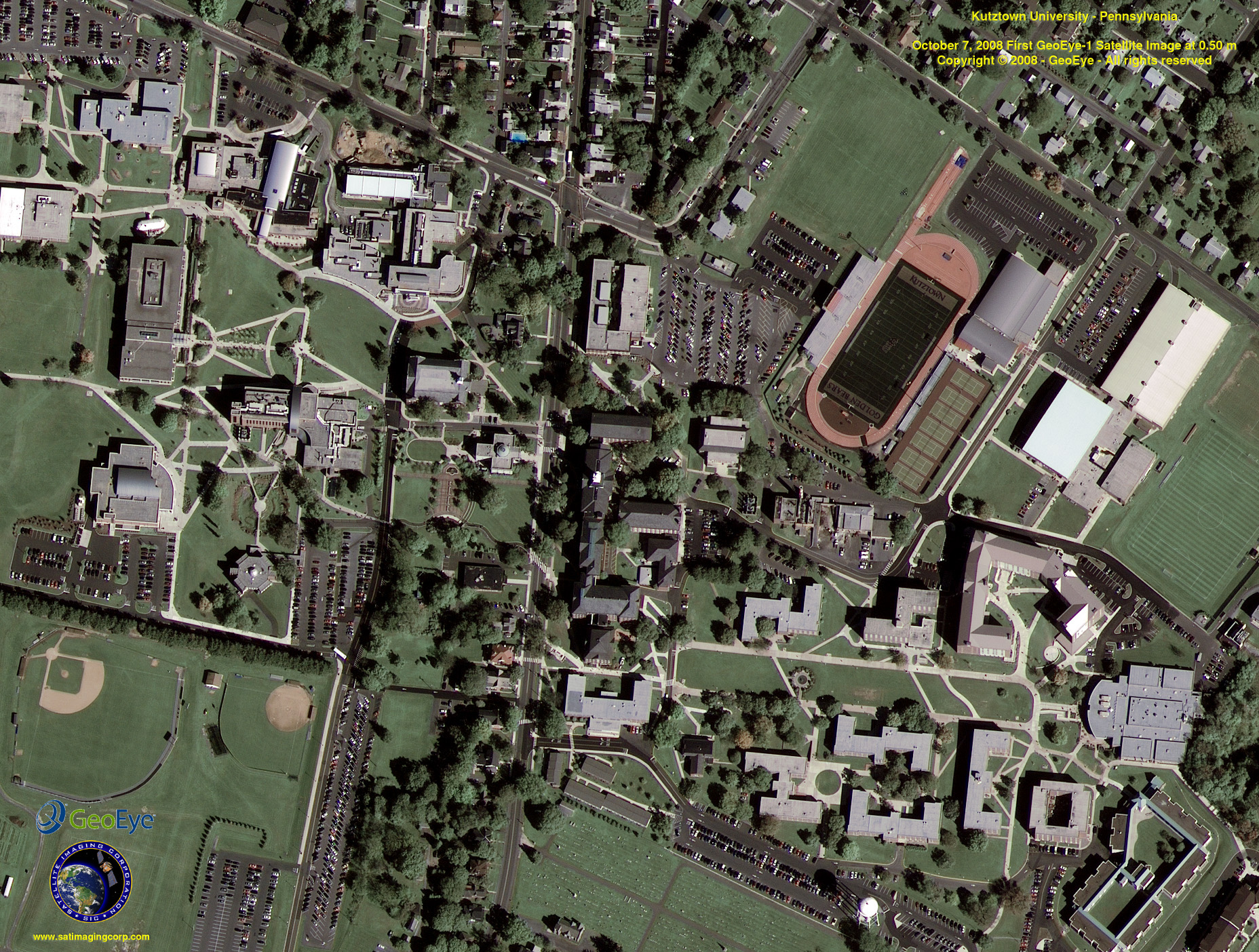 Intelligent High Resolution SatelliteAerial Imagery - High resolution aerial maps