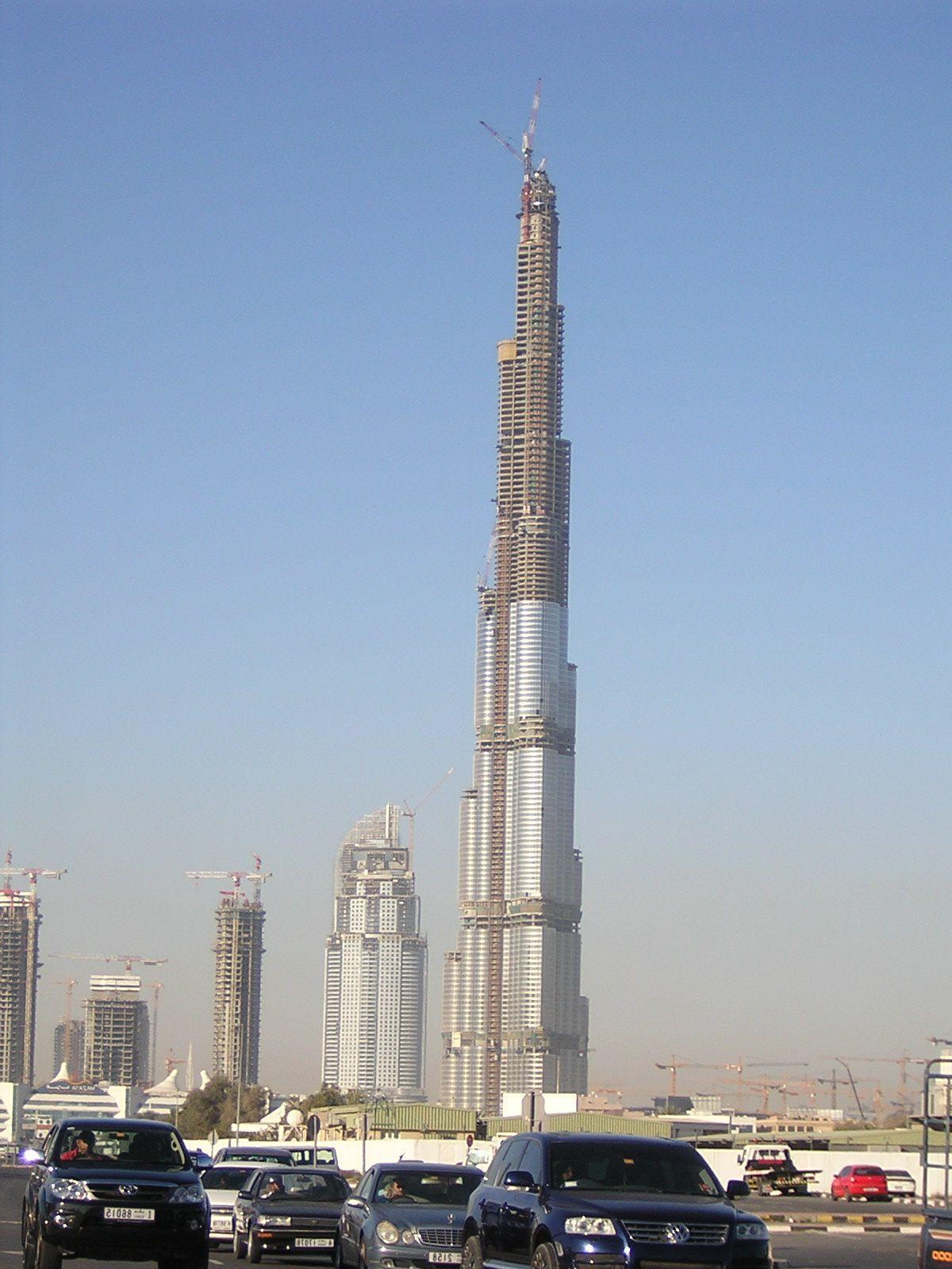 Tallest Building In The World Dubai 2009