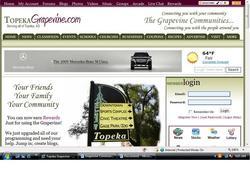 TopekaGrapevine.com          Screen Shot