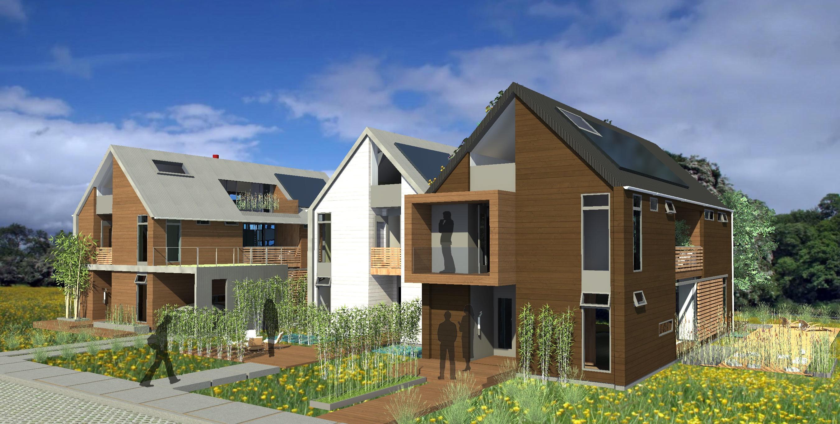 Green prefab architect michelle kaufmann debuts mkhearth Michelle kaufmann designs blu homes