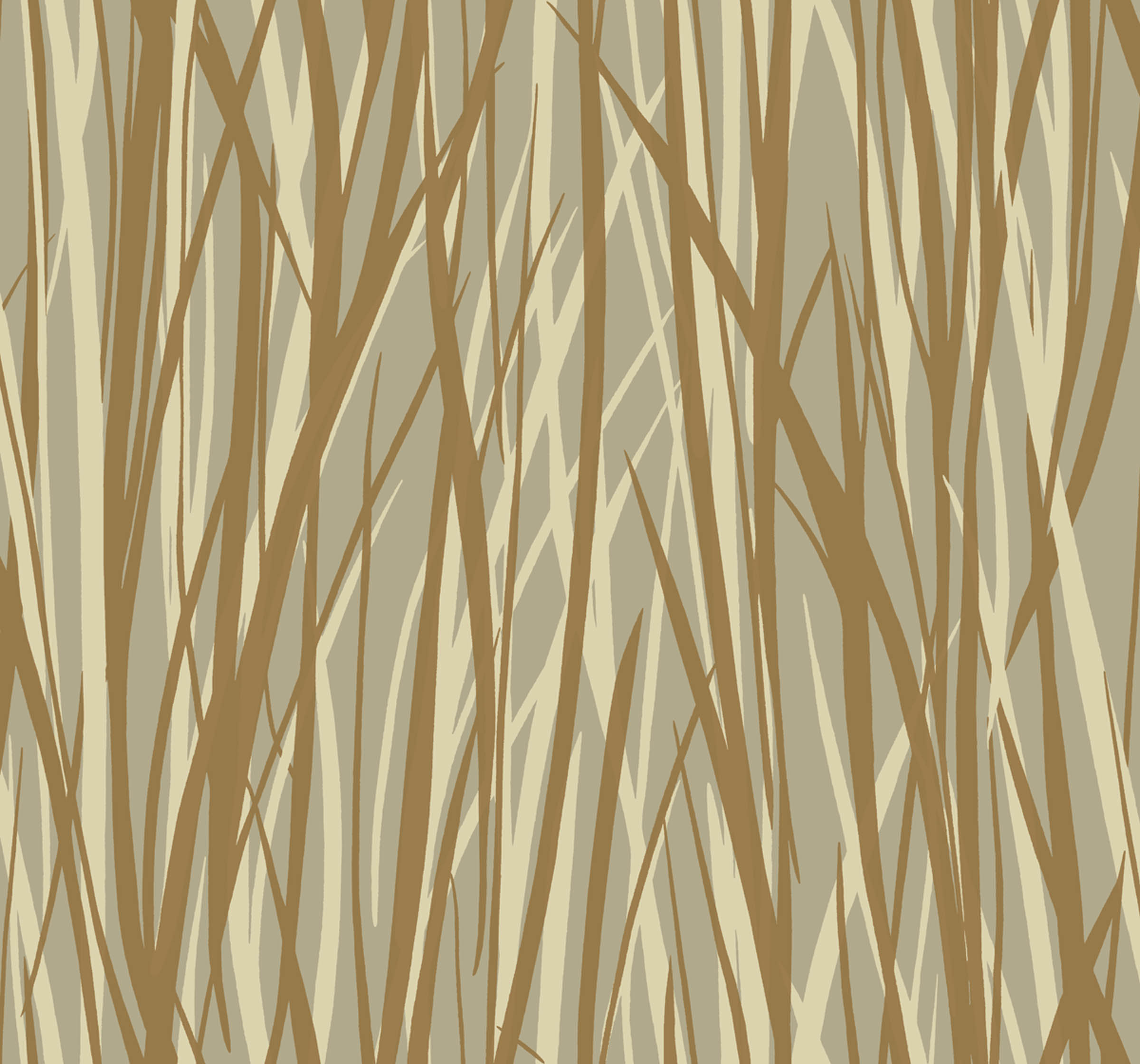 "Grasses design from Sandpiper Studios' ""Eco Chic"" wallpaper collection."
