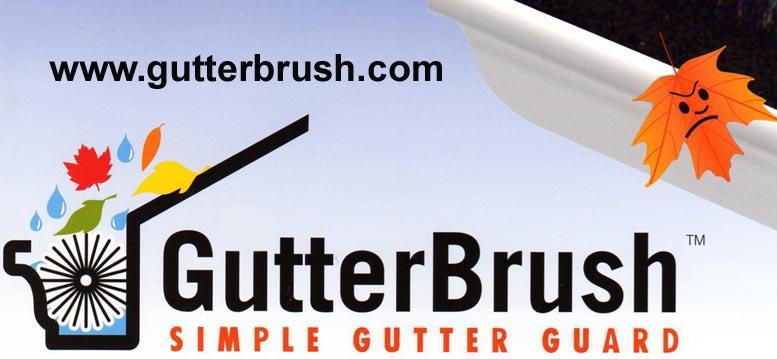 gutterbrush simple gutter guard - Gutter Brush