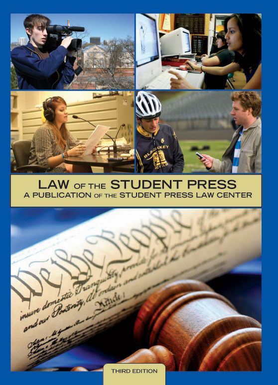 new edition provides legal resource for student journalists