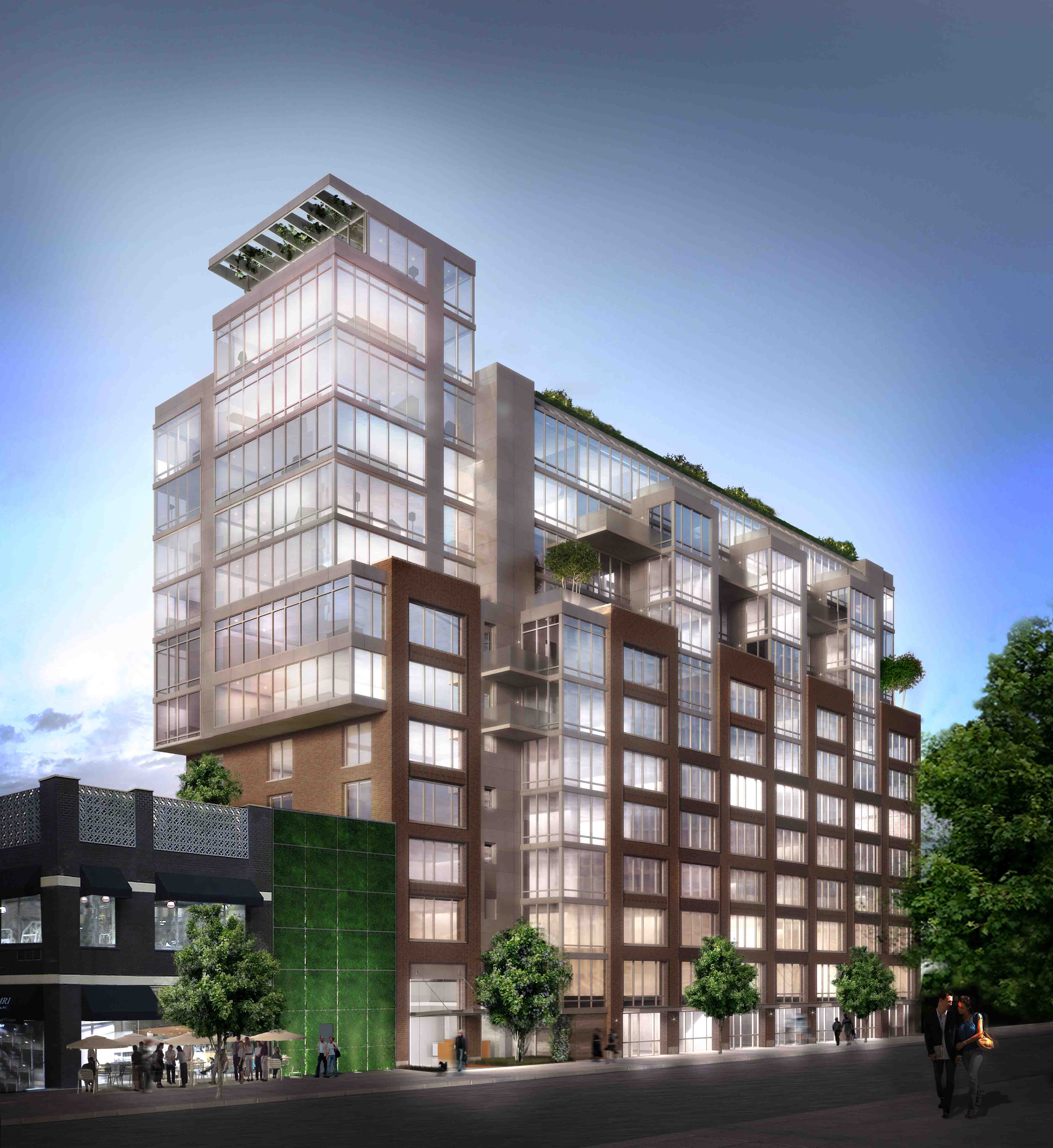 Sales begin at murray hill 39 s first eco friendly building for Eco green builders