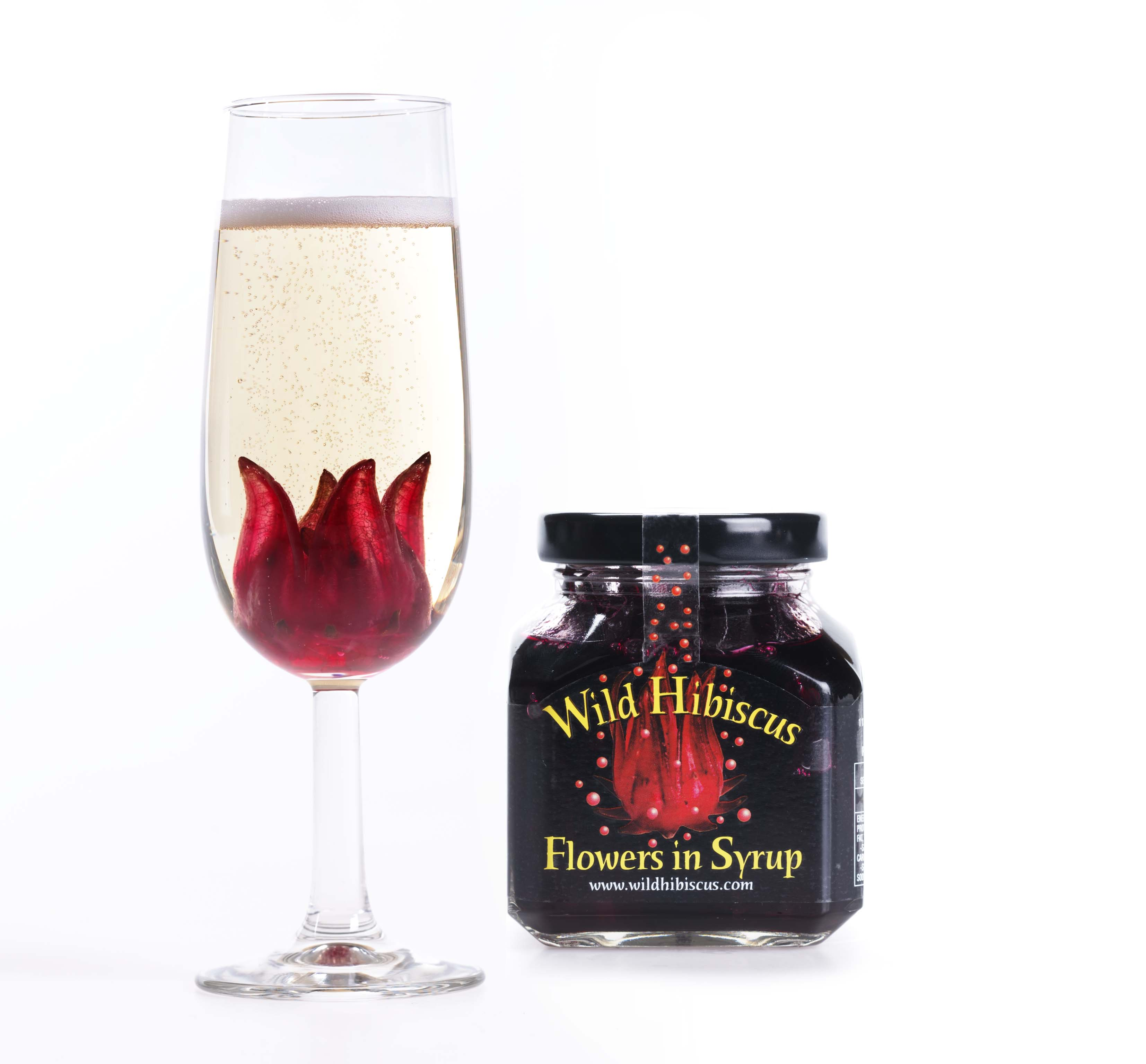 Incredible edible gifts for a favorite foodie wild hibiscus flowers in syrup izmirmasajfo Gallery