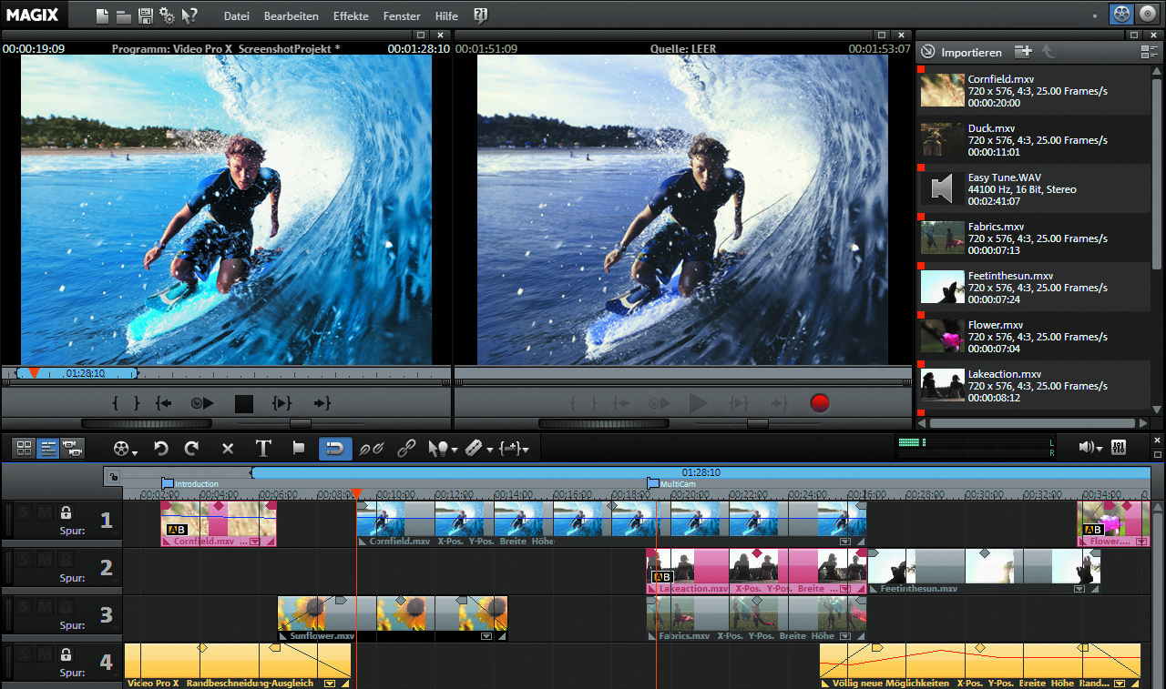 Music video editing software for windows server