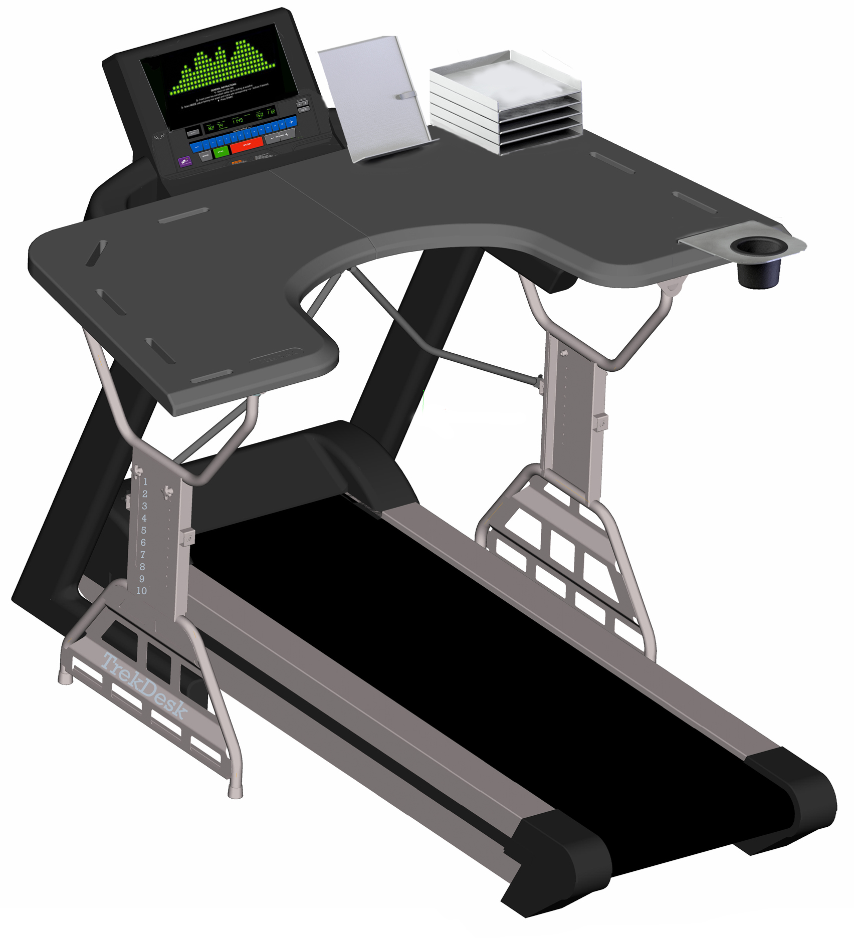 Treadmill For Desk At Work: Reducing Healthcare Costs For Small Business With