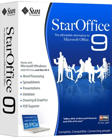 Sun Microsystems Unveils StarOffice(TM) 9 Software