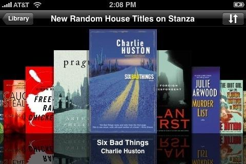 Free Random House Books on Stanza iPhone
