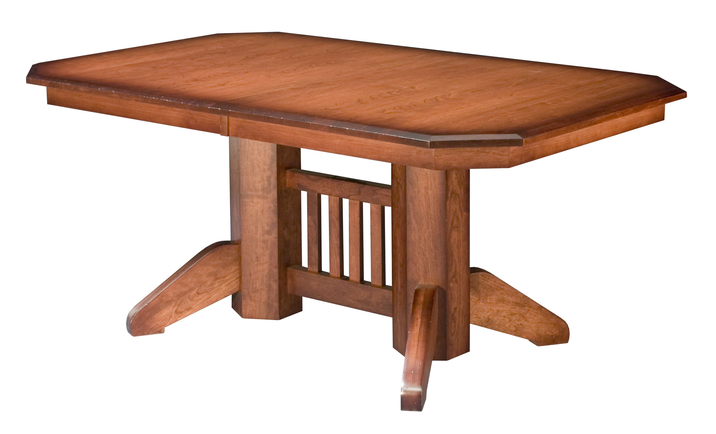 New online furniture store offers finely crafted amish for Mission style dining table