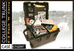 CaseCruzer   New Pelican College Trunk U0026 Footlocker Is A Smooth Ride From  Home To Dorm To Graduation Day