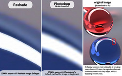 Comparing Reshade and Photoshop best photo resizing methods