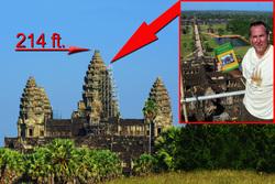 Titanic Unveiling at Angkor Wat