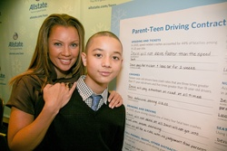 Parent Teen Contract >> Allstate Insurance Company Holiday Teen Driving Hotspots