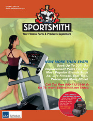 SPORTSMITH, Fitness Equipment Parts & Products Superstore! We are dedicated to helping you maintain your fitness equipment as cost effectively as possible. We offer 's of quality parts for cardio and strength equipment.