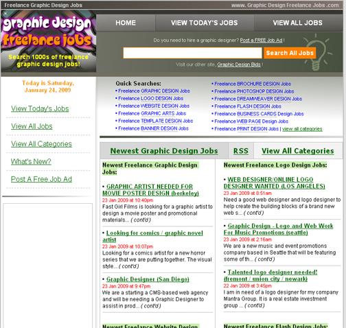 new employment website helps graphic designers find