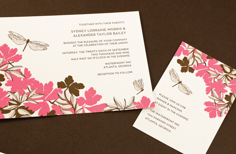 Wedding Diva Invitations: Wedding Paper Divas Unveils Trends For 2009 Wedding Season