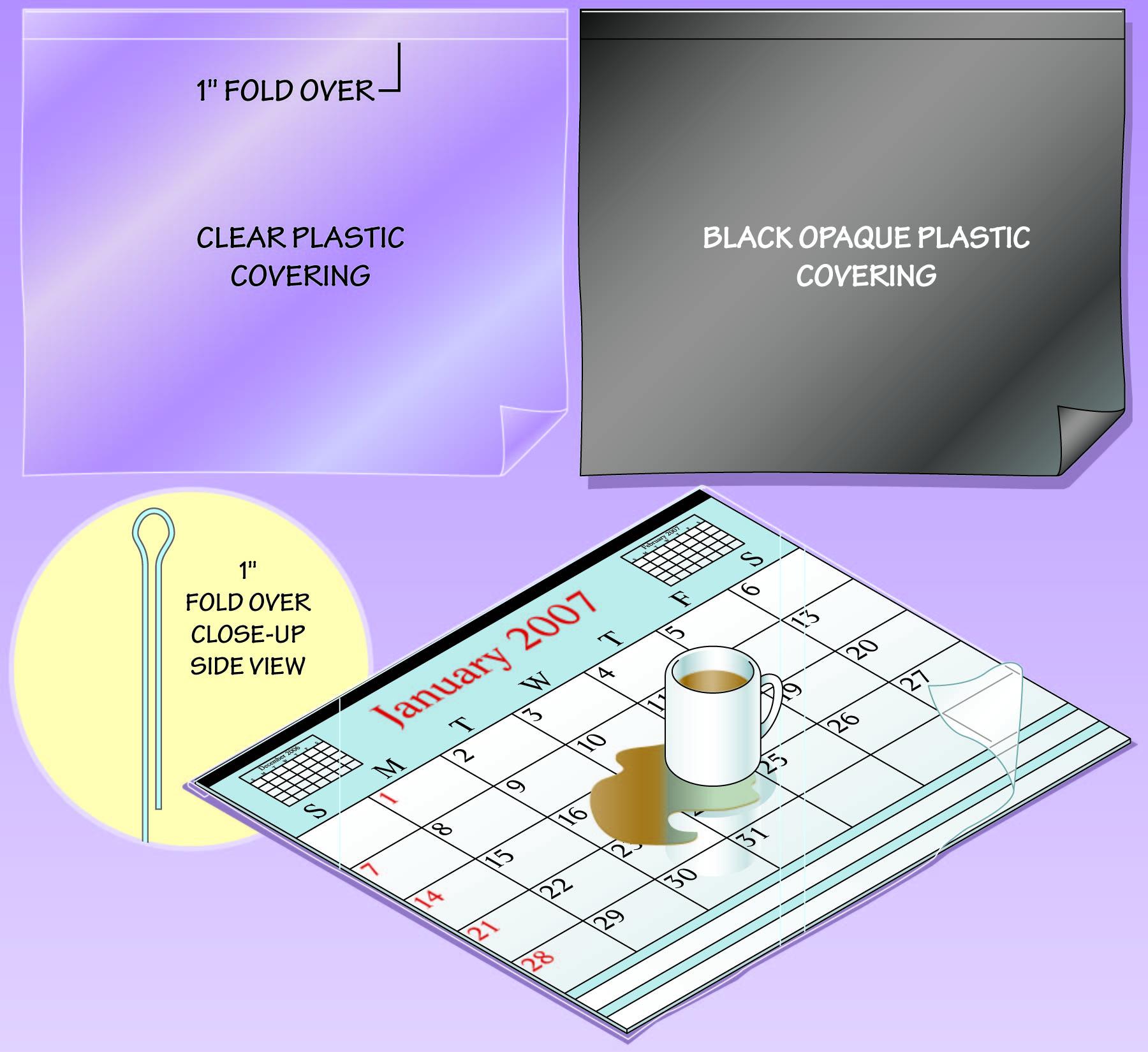 Clear Plastic Desk Protector Hostgarcia