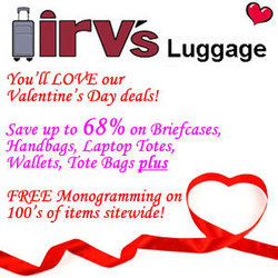 Irv's Luggage SALE