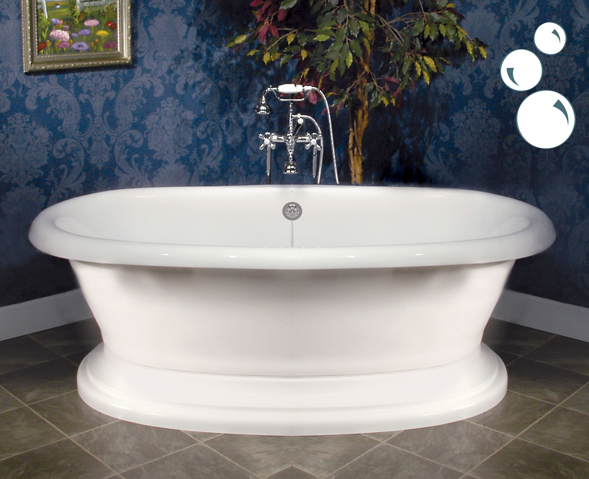 Line Of Air Bath Tubs From Signature Hardware