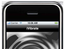 iVibrate iPhone App
