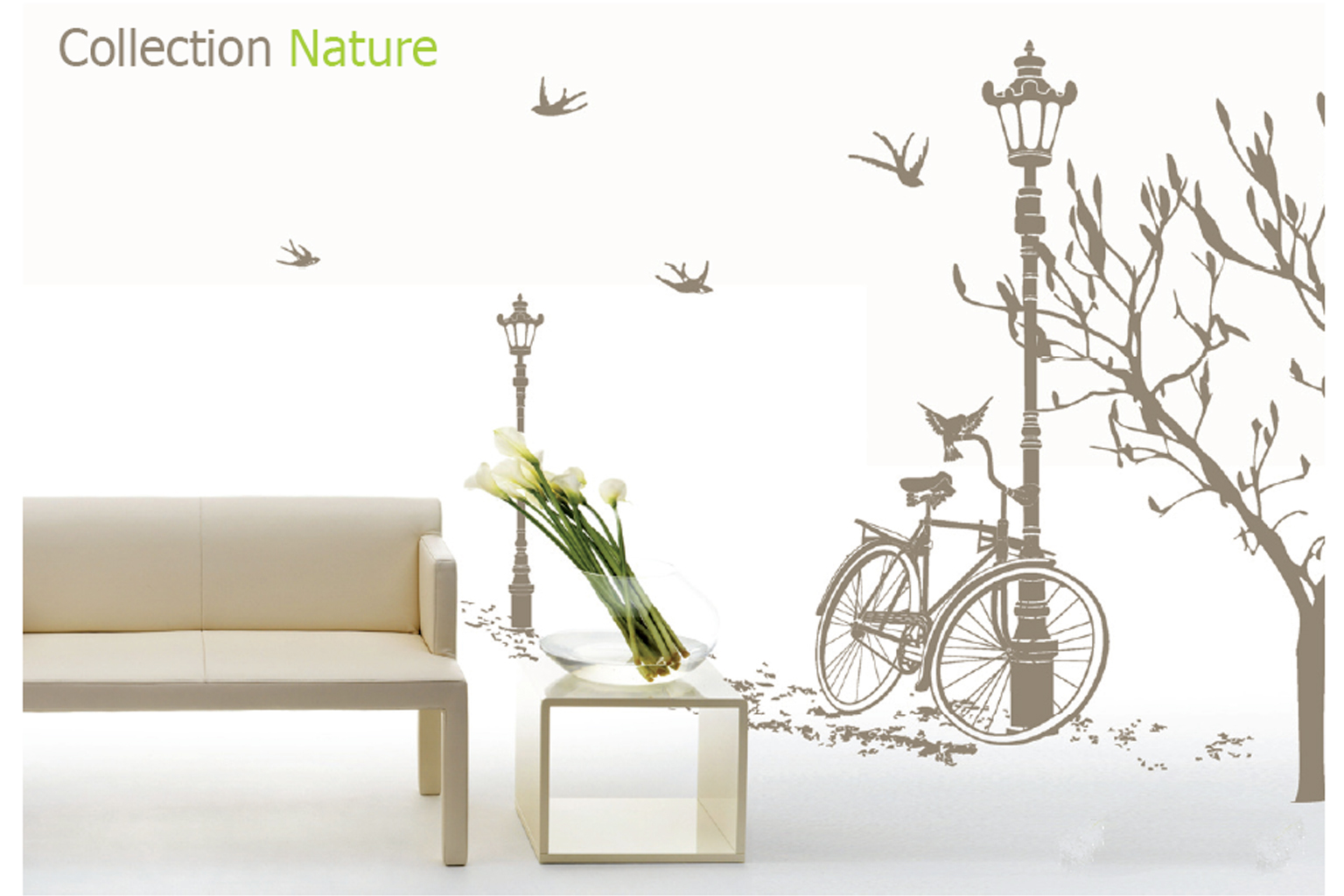 ... Wall Decals Nature CollectionPark Bench Wall Decal ... Part 85