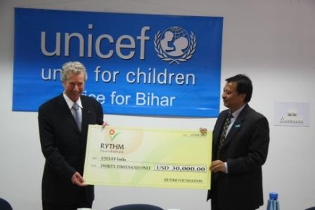 QuestNet & RYTHM Foundation Supports UNICEF in Bihar, India