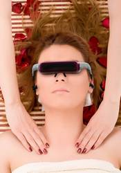 Video Glasses with Relaxation DVD      boost Relaxation in Spa Resorts