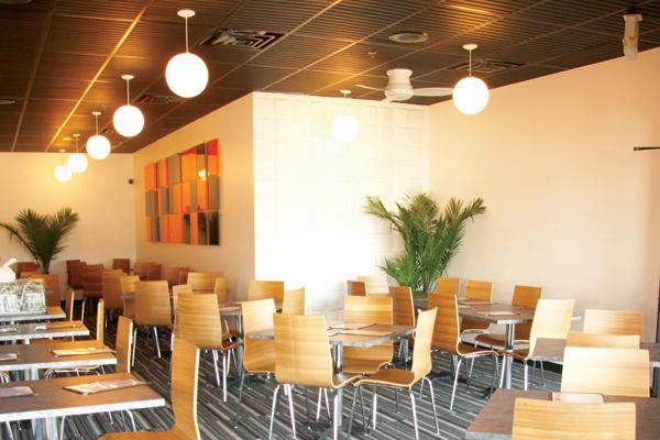 Restaurant kitchen ceiling tiles