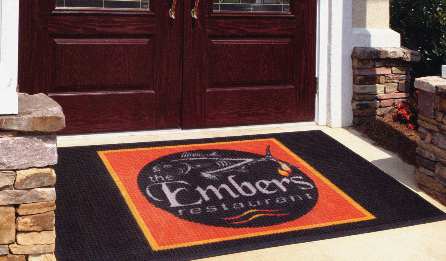 Floor mats business - New Waterhog Impressions Logo Floor Matsthese Durable Indoor Or Outdoor Carpet Mats Are A Great Way To Advertise At Your Business Entrance
