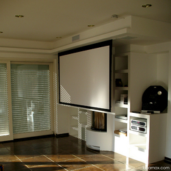Ceiling Projector Screen Installation Ceiling Tiles