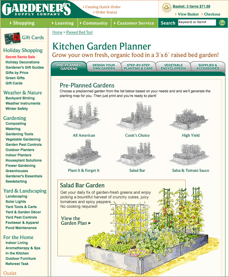 Kitchen Garden Planner: Invest In Guaranteed Growth In Your Own Backyard