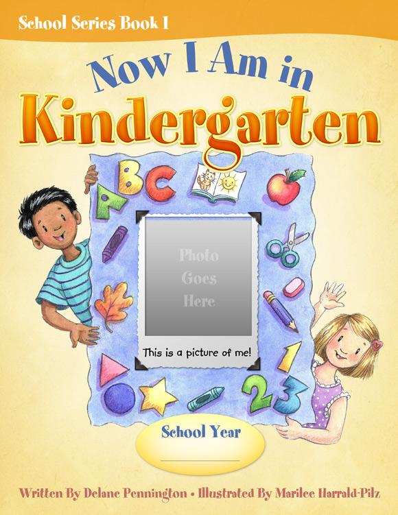 Children School Book Cover : Parents children preserve school memories together
