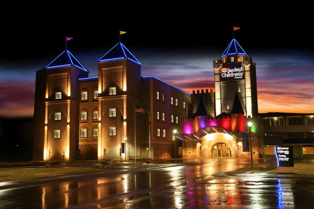Sanford Hospital Sioux Falls >> Sanford Children's Hospital Opens New Castle of Care