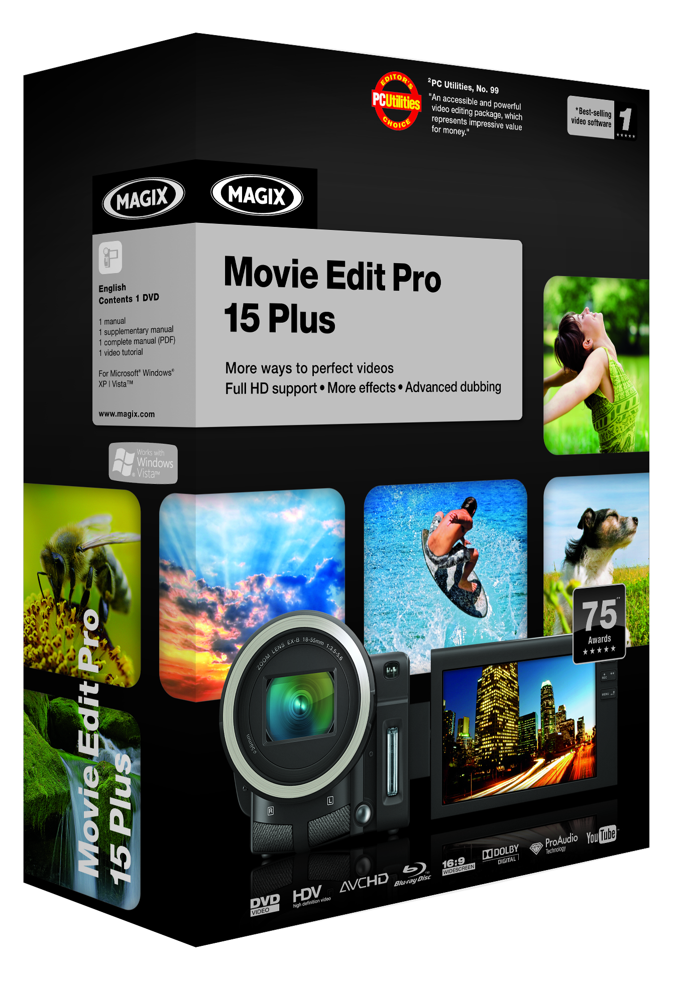 Magix releases movie edit pro 15 video editing software for Magix movie edit pro templates