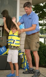 Summer Water Safety Tip: How to Fit and Borrow a Child's Life Jacket