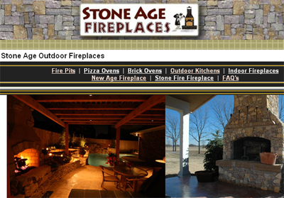 Stone Age FireplacesThe Company Specializes In Masonry Outdoor Fireplaces And Fire Pits